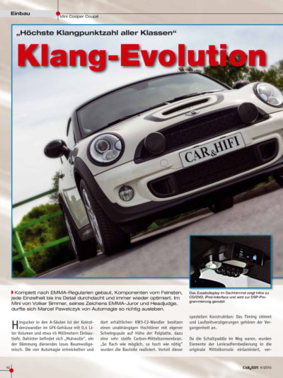 Car & Hifi - Klang-Evolution