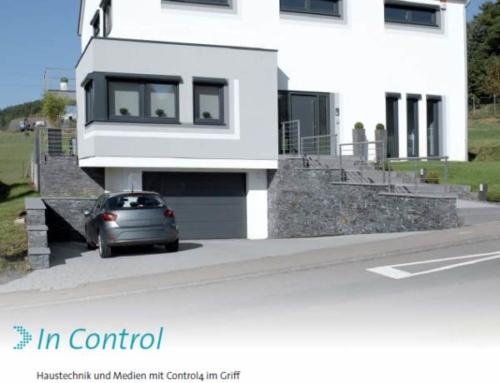 In Control – Haustechnik und Medien mit Control4 im Griff