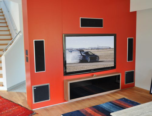 Custom Installation – Home Entertainment